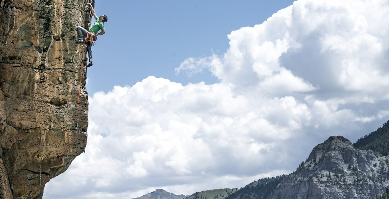 Andres Marin Enjoying Jug Haul on Bonanza. Image by Xander Bianchi